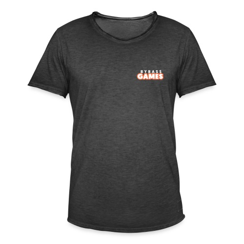 BBG Kleur - Mannen Vintage T-shirt