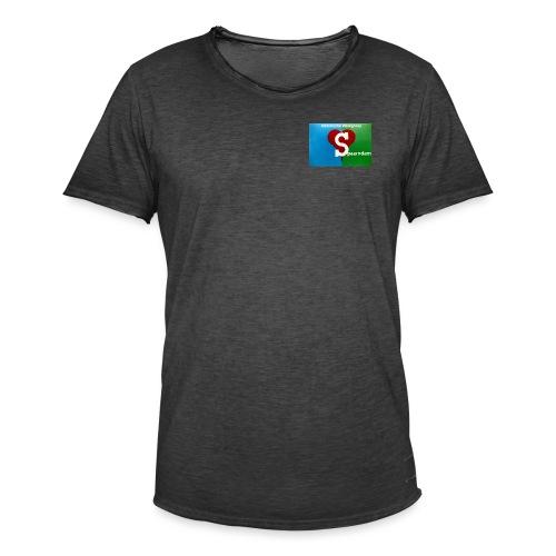 His werk logo 1 - Mannen Vintage T-shirt