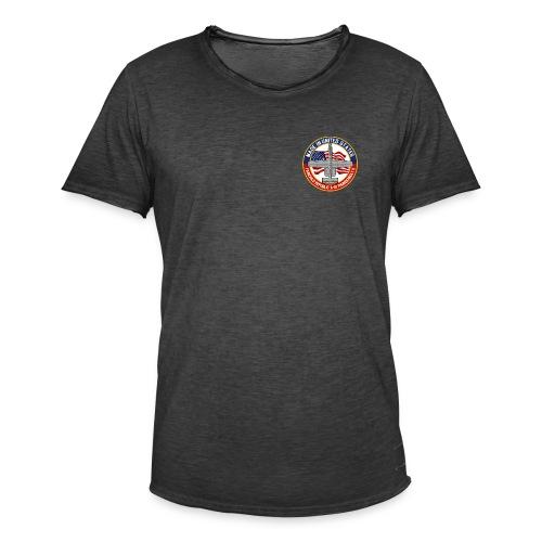 A-10 Thunderbolt escutcheon! - Männer Vintage T-Shirt