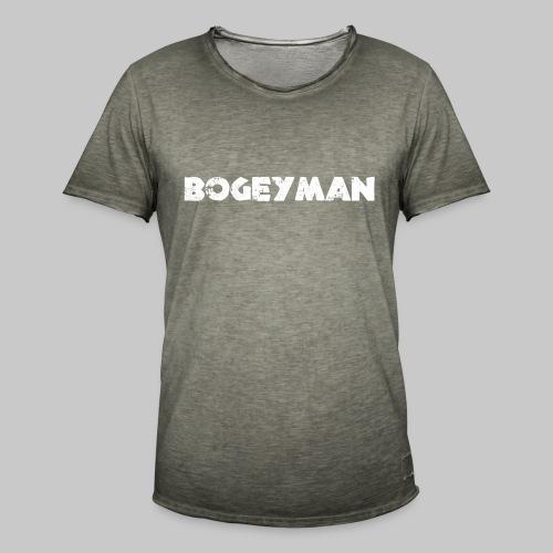 valkoinen - Miesten vintage t-paita