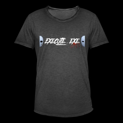 execute.exe - T-shirt vintage Homme