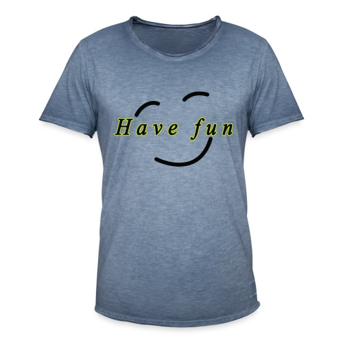 fun - T-shirt vintage Homme