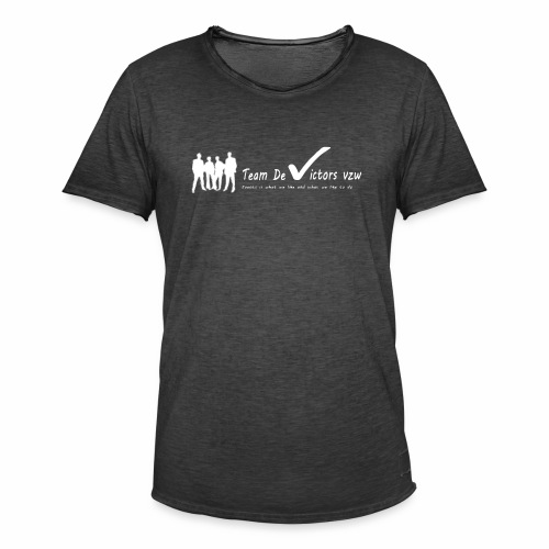 TDV - Mannen Vintage T-shirt