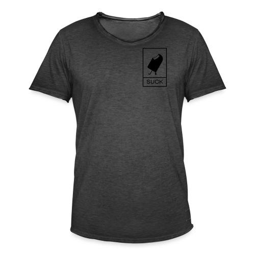 suck - T-shirt vintage Homme