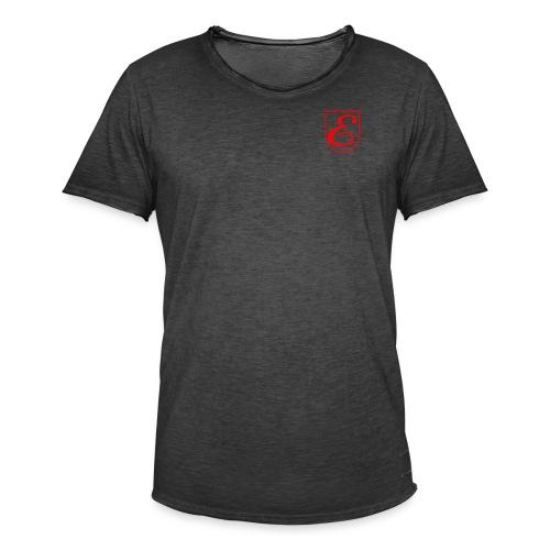 kjk - Camiseta vintage hombre