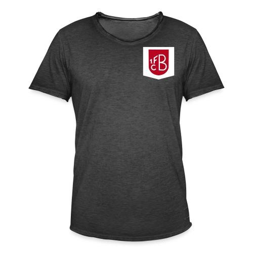brusttasche - Männer Vintage T-Shirt