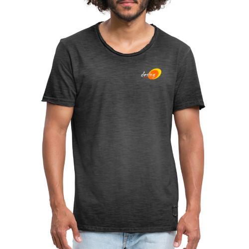 diseño impacto, innovador y discreto - Camiseta vintage hombre