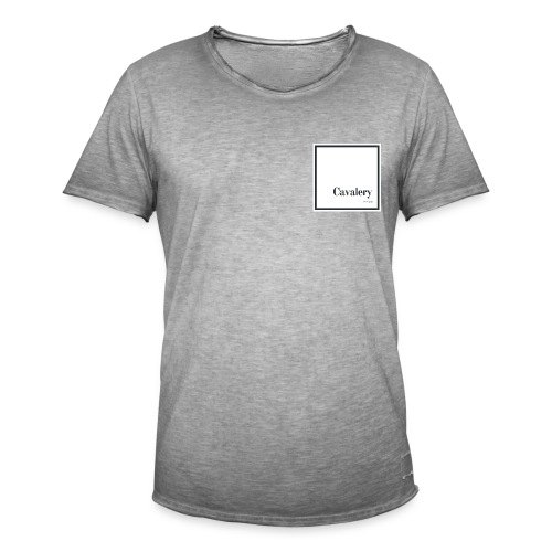 Cavalery - T-shirt vintage Homme
