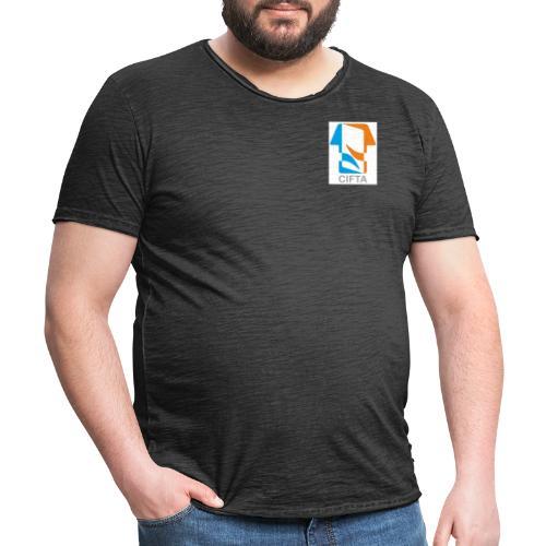Logo CIFTA final RGB - Camiseta vintage hombre