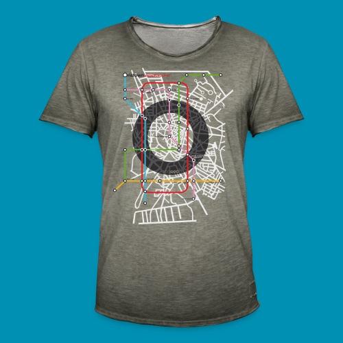 Underground Oristano 2020 - Maglietta vintage da uomo