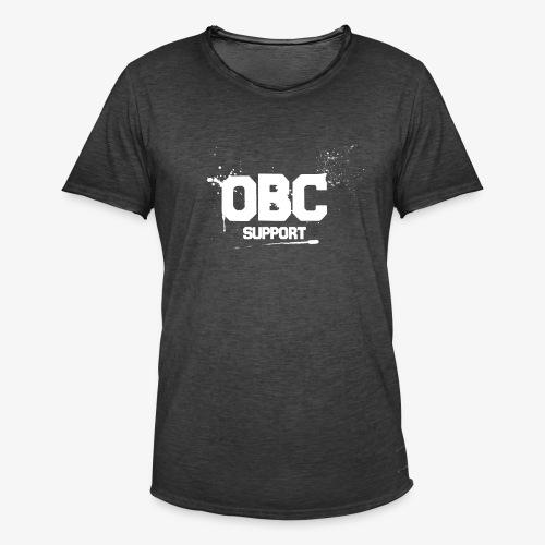 OBCSPP Weiss - Männer Vintage T-Shirt