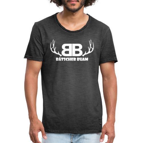 Bätscher Buam - Männer Vintage T-Shirt