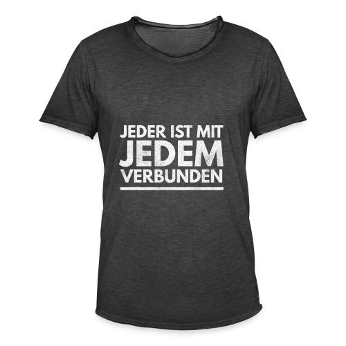 Volk Menschen Person Geschenk 4 - Männer Vintage T-Shirt