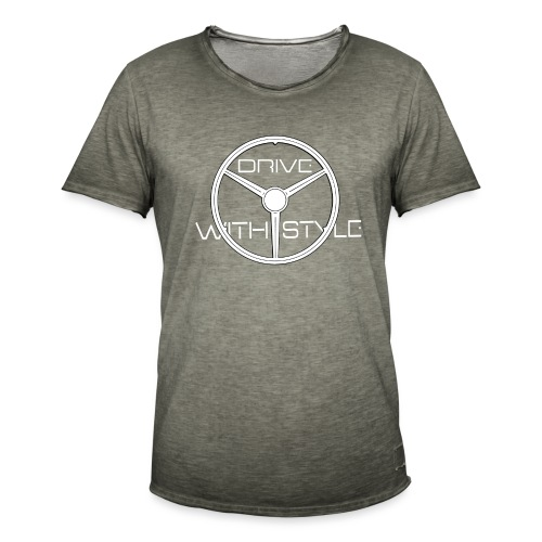 Edition Trois Branches DriveWithStyle - T-shirt vintage Homme