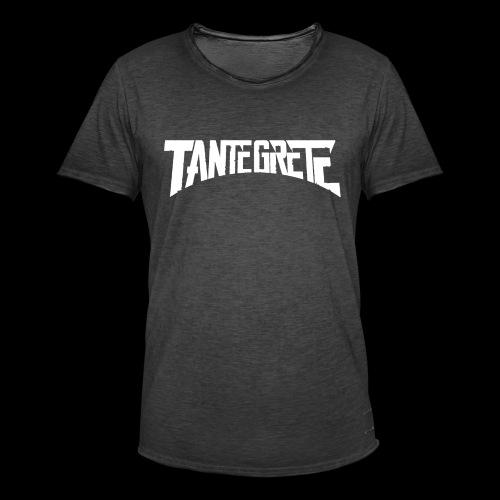 Tante Grete - Männer Vintage T-Shirt