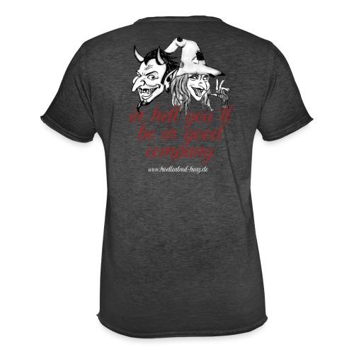 In hell... - Männer Vintage T-Shirt