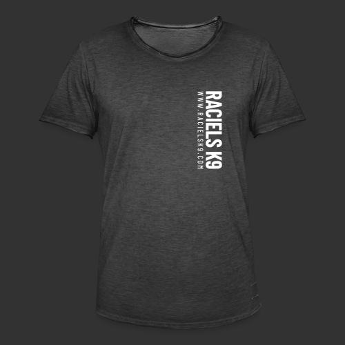 Raciels K9 TEXT - Miesten vintage t-paita