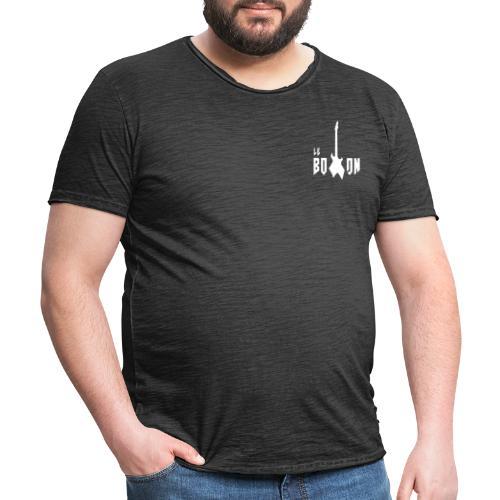logos blanc le boxon (friends) - T-shirt vintage Homme