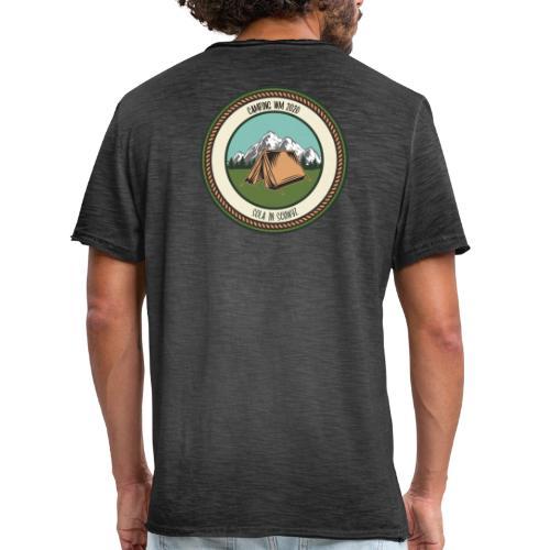 Sola 20 Camping WM - Männer Vintage T-Shirt
