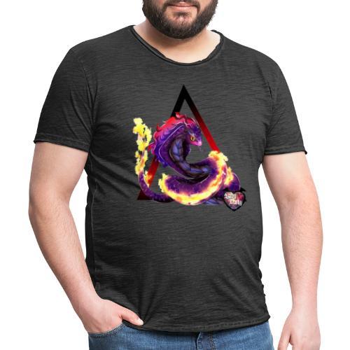 snake - T-shirt vintage Homme