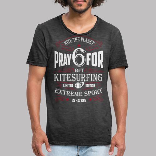 pray1 ktp - Männer Vintage T-Shirt