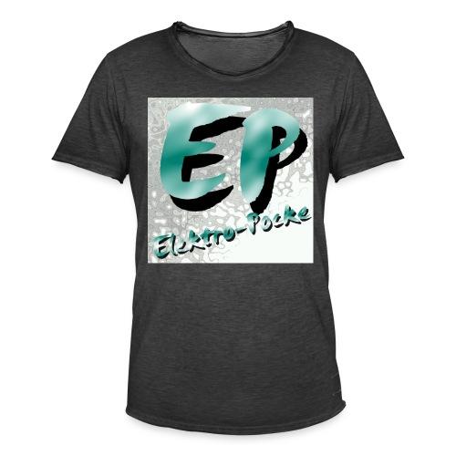 Elektro-Pocke T-Shirt Premium - Männer Vintage T-Shirt