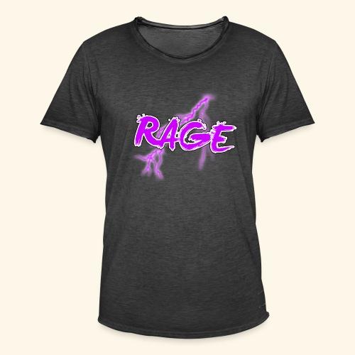 Logo rage - T-shirt vintage Homme