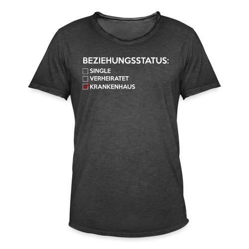 Beziehungsstatus - Krankenhaus - Männer Vintage T-Shirt