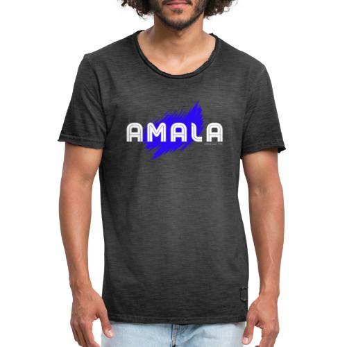Amala, pazza inter (nera) - Maglietta vintage da uomo