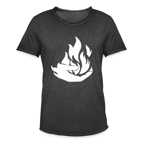 Flamekeeper logo - Mannen Vintage T-shirt