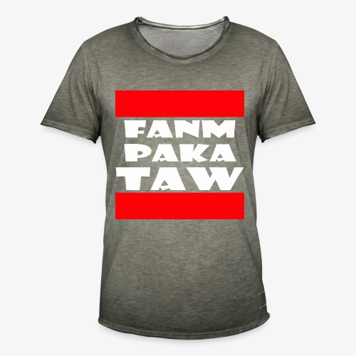 fanm paka taw - T-shirt vintage Homme
