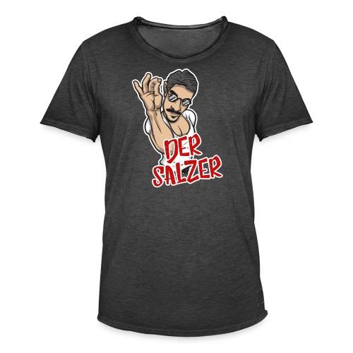 Der Salzer   Grillmeister Tshirt - Männer Vintage T-Shirt