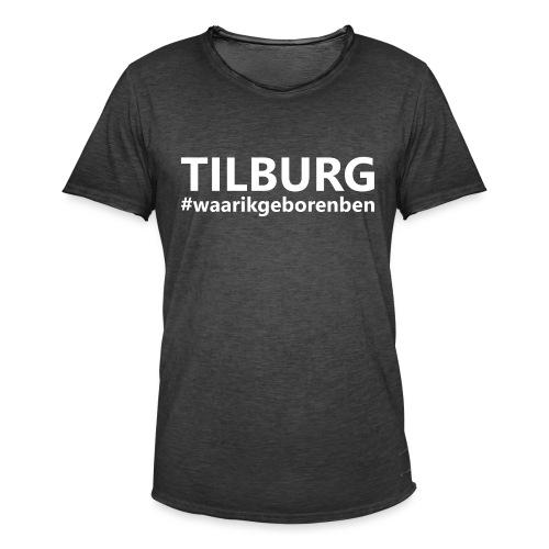 #waarikgeborenben - Mannen Vintage T-shirt