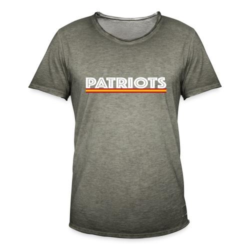 patriots esp 02 blanco - Camiseta vintage hombre