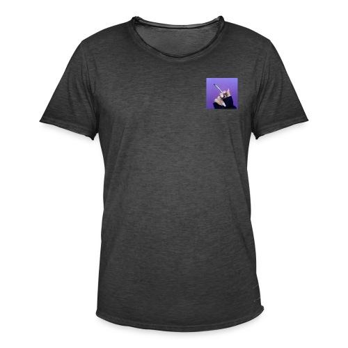 SMOKE A JOINT - Mannen Vintage T-shirt
