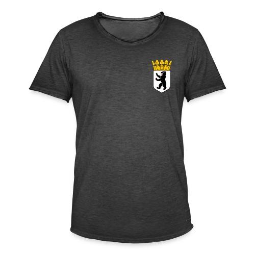 Berlin Wappen Klamotten - Männer Vintage T-Shirt