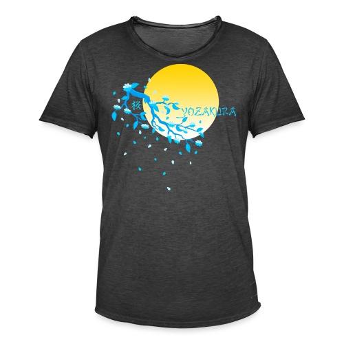 Cherry Blossom Festval Full Moon 2 - Männer Vintage T-Shirt
