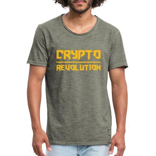 Crypto Revolution III - Men's Vintage T-Shirt