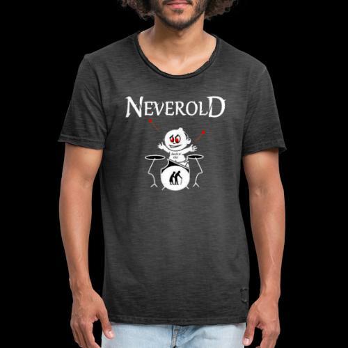 LOGO NEVEROLD - T-shirt vintage Homme