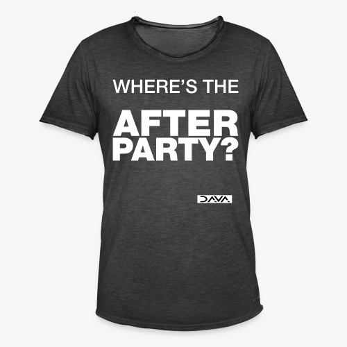 Afterparty - white - Men's Vintage T-Shirt