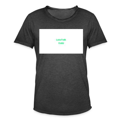 LetsTalk ColU - Men's Vintage T-Shirt