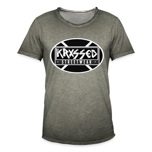 KRXSSED BASIC - Mannen Vintage T-shirt