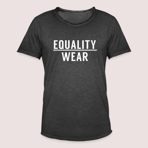 Equality Wear Official Pattern - Men's Vintage T-Shirt