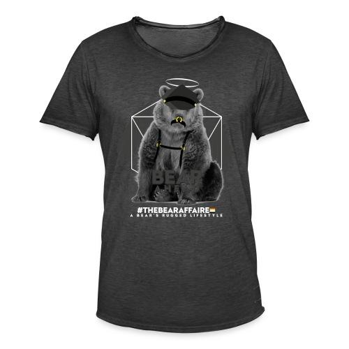 TBA Shirts Male BEARLINE Daddy Bear - Männer Vintage T-Shirt