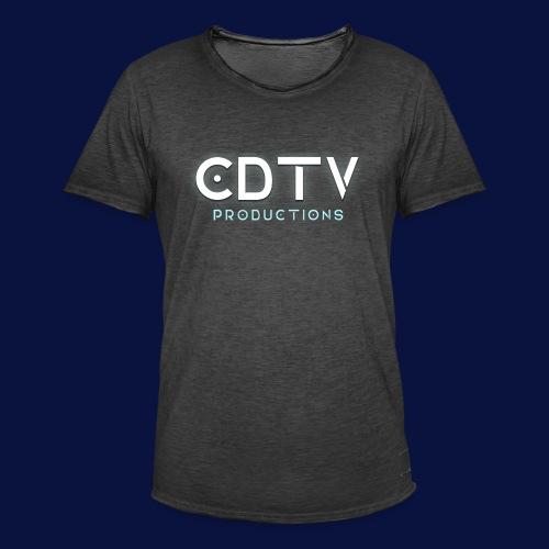 Full CDTVProductions Logo - Men's Vintage T-Shirt