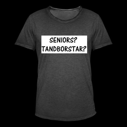 Seniors? Tandborstar? - Vintage-T-shirt herr