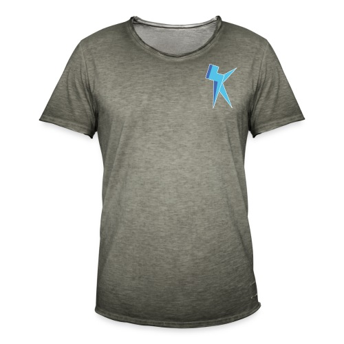 K Vlogs Logo - Mannen Vintage T-shirt