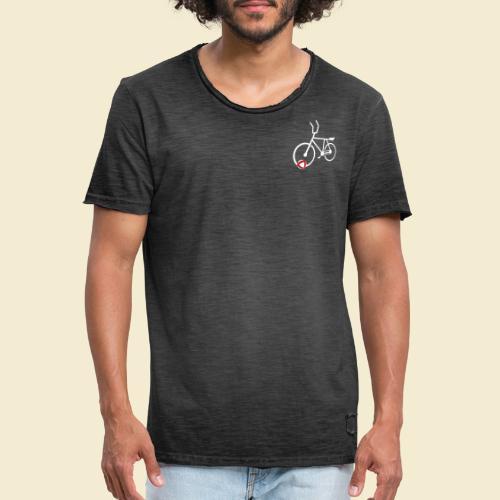 Radball | Cycle Ball Polo white - Männer Vintage T-Shirt