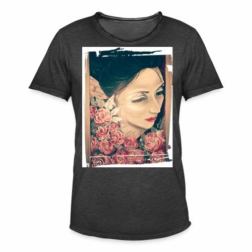 Lady Rose, - Maglietta vintage da uomo