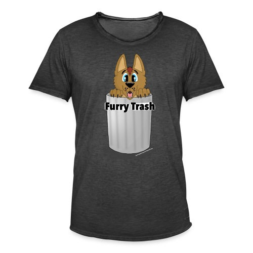 Furry Trash - Herre vintage T-shirt